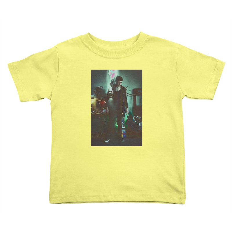 Mad Genius VIX Kids Toddler T-Shirt by The Mad Genius Artist Shop