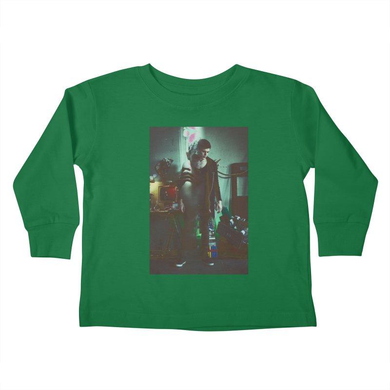 Mad Genius VIX Kids Toddler Longsleeve T-Shirt by The Mad Genius Artist Shop