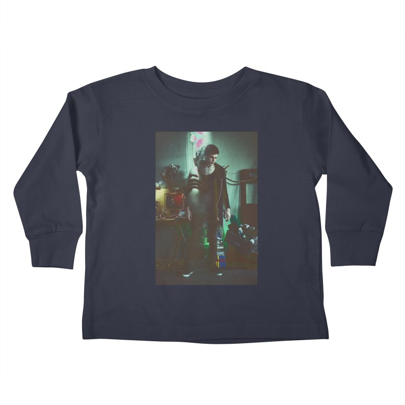 Mad Genius VIX Kids Toddler Longsleeve T-Shirt by The Mad Genius Artist Shop