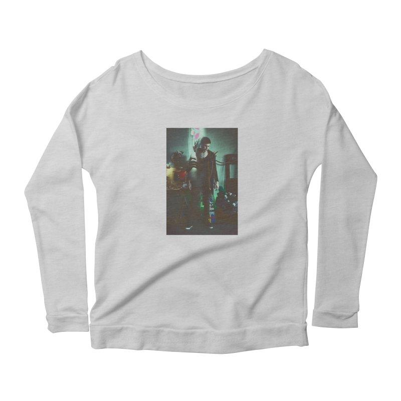 Mad Genius VIX Women's Scoop Neck Longsleeve T-Shirt by The Mad Genius Artist Shop