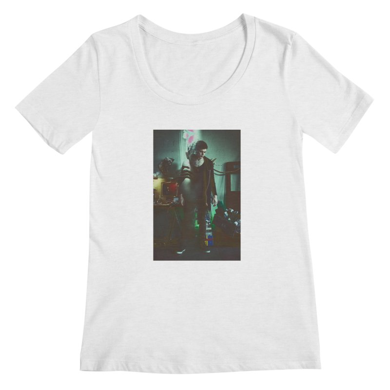 Mad Genius VIX Women's Regular Scoop Neck by The Mad Genius Artist Shop