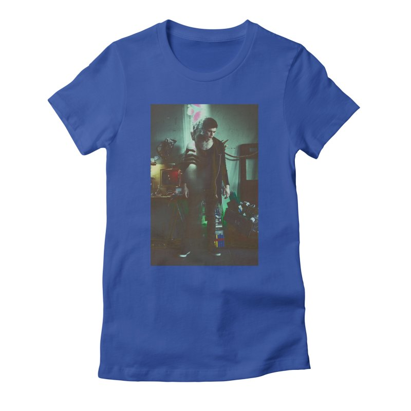Mad Genius VIX Women's Fitted T-Shirt by The Mad Genius Artist Shop