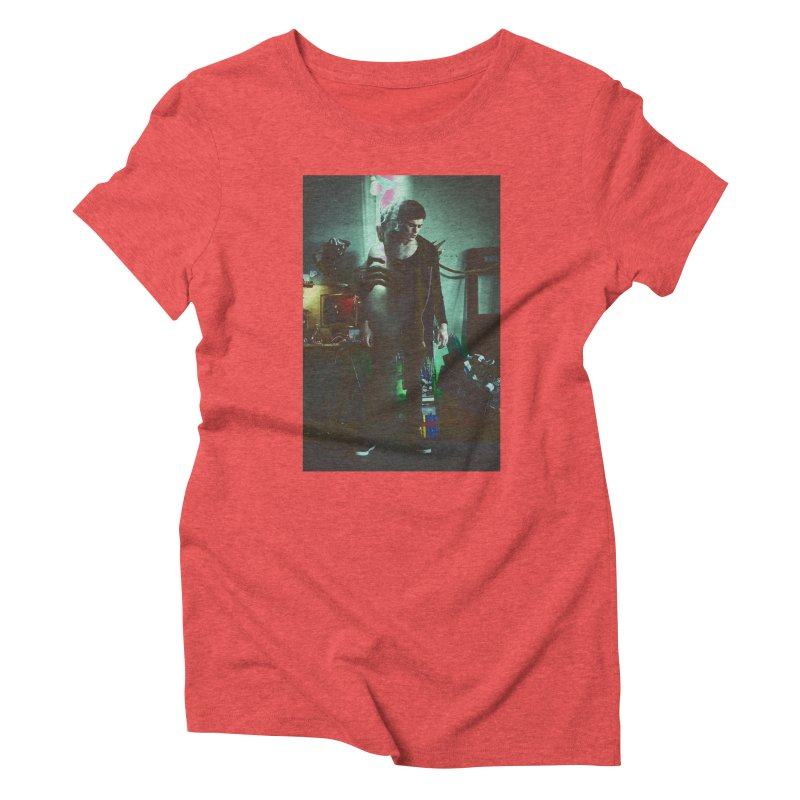 Mad Genius VIX Women's Triblend T-Shirt by The Mad Genius Artist Shop