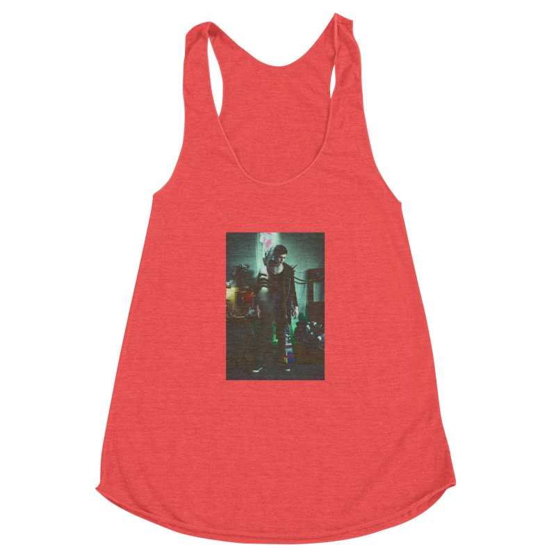 Mad Genius VIX Women's Racerback Triblend Tank by The Mad Genius Artist Shop