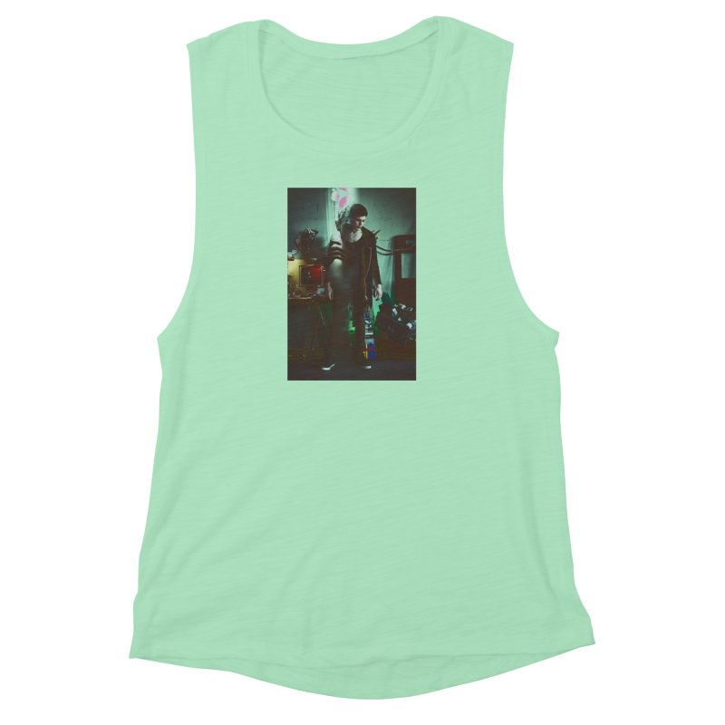Mad Genius VIX Women's Muscle Tank by The Mad Genius Artist Shop