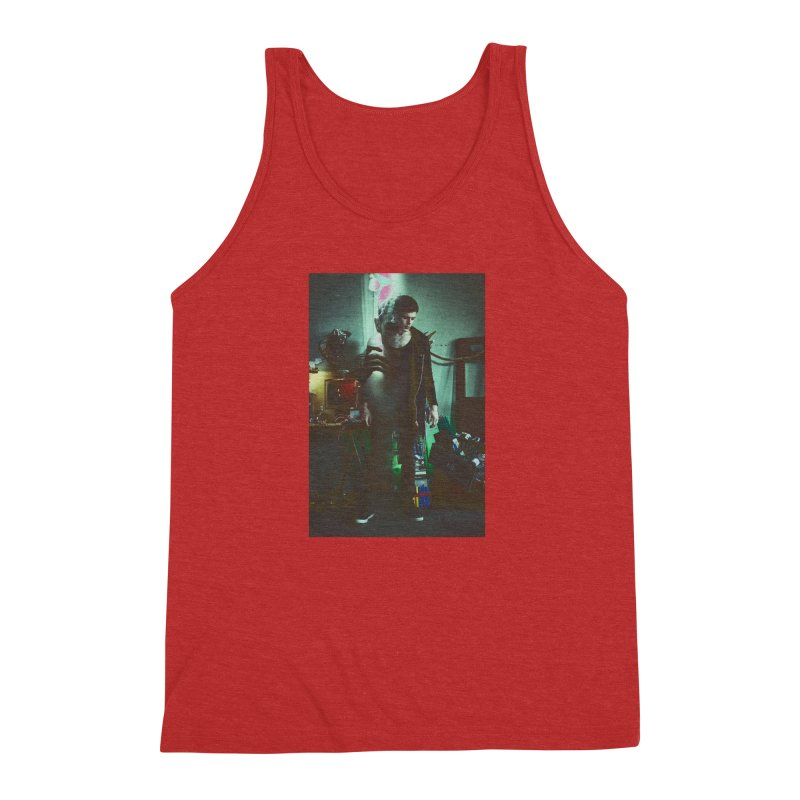 Mad Genius VIX Men's Triblend Tank by The Mad Genius Artist Shop