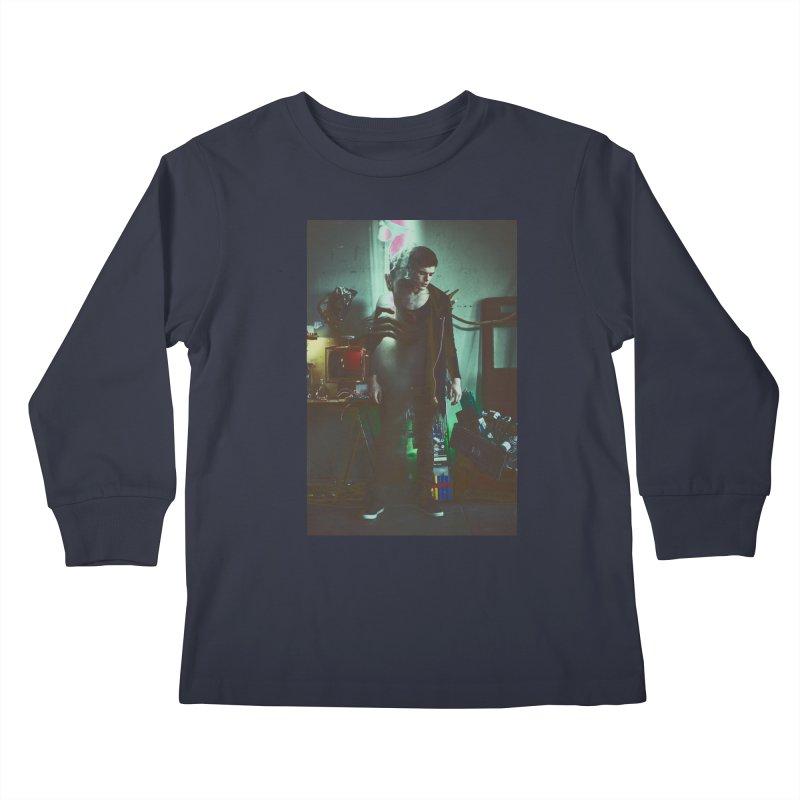 Mad Genius VIX Kids Longsleeve T-Shirt by The Mad Genius Artist Shop