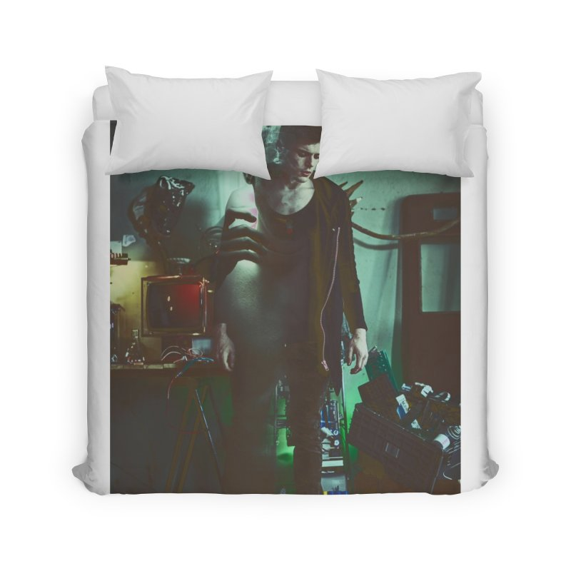 Mad Genius VIX Home Duvet by The Mad Genius Artist Shop