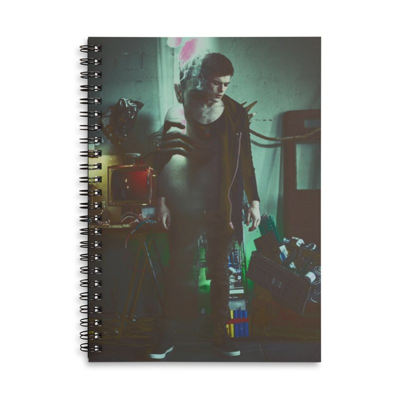 Mad Genius VIX Accessories Lined Spiral Notebook by The Mad Genius Artist Shop