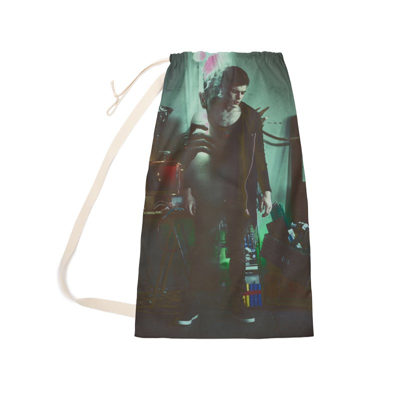 Mad Genius VIX Accessories Laundry Bag Bag by The Mad Genius Artist Shop