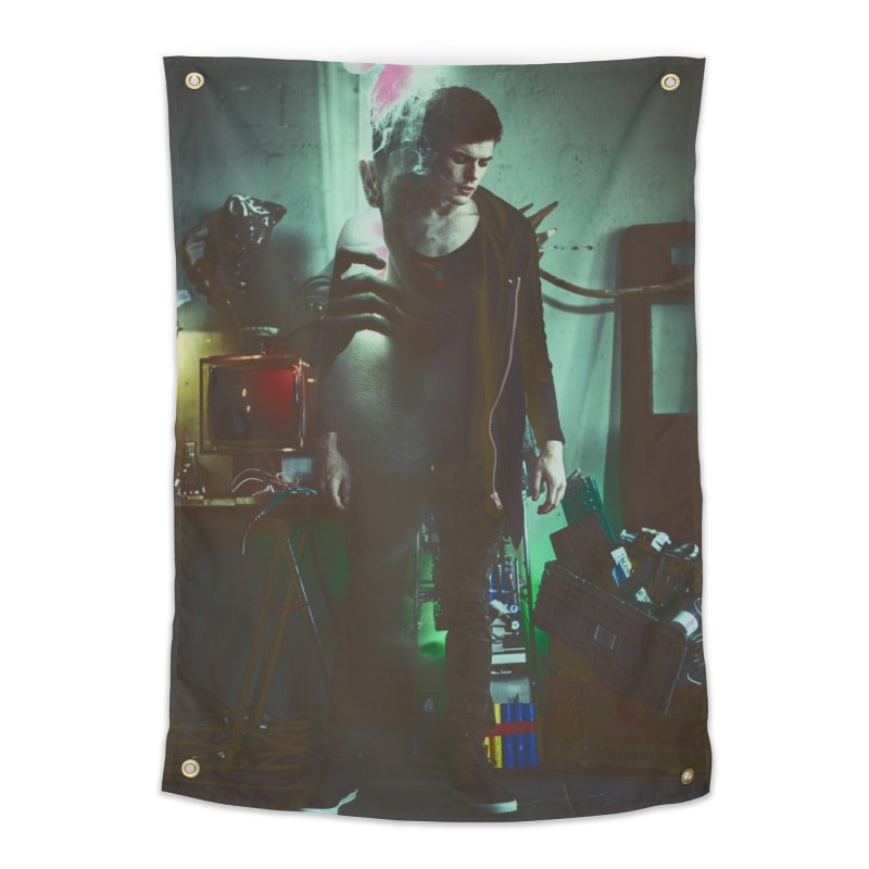 Mad Genius VIX Home Tapestry by The Mad Genius Artist Shop