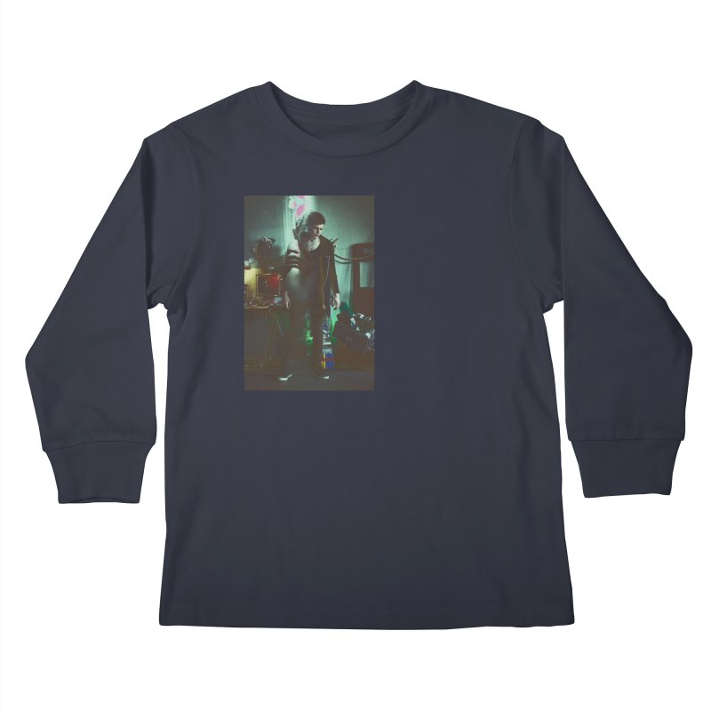 Mad Genius VIX Kids Longsleeve T-Shirt by The Mad Genius Artist Shop