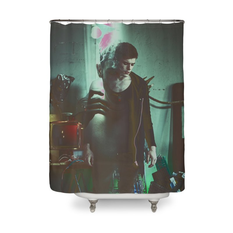 Mad Genius VIX Home Shower Curtain by The Mad Genius Artist Shop