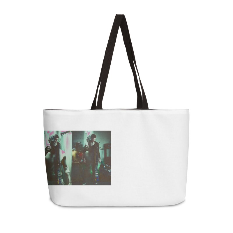Mad Genius VIX Accessories Weekender Bag Bag by The Mad Genius Artist Shop