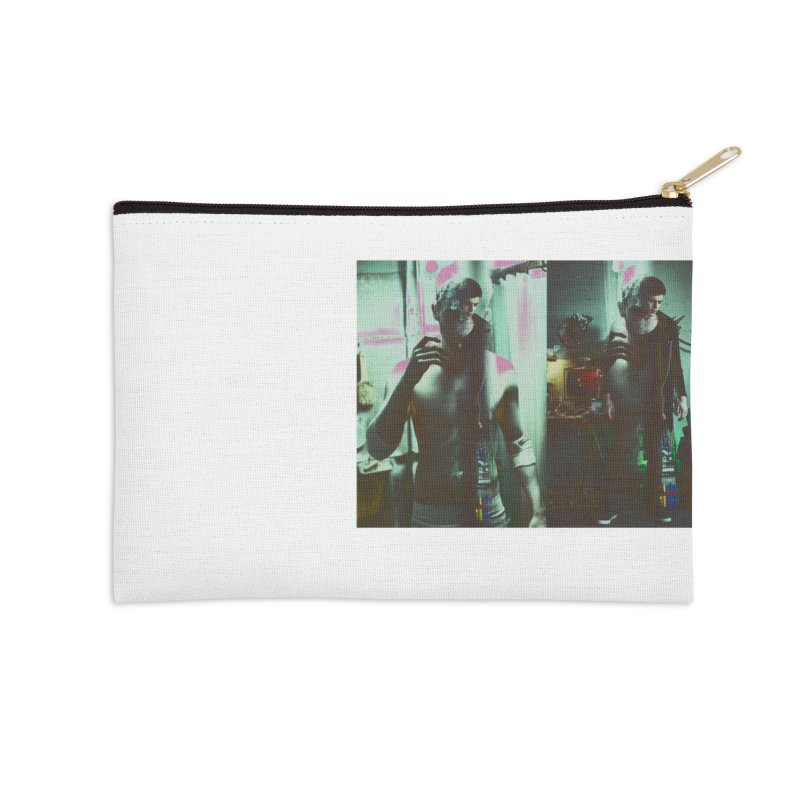 Mad Genius VIX Accessories Zip Pouch by The Mad Genius Artist Shop