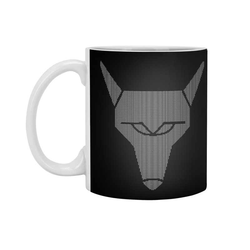 Mad Genius White Hat Fox Accessories Standard Mug by The Mad Genius Artist Shop