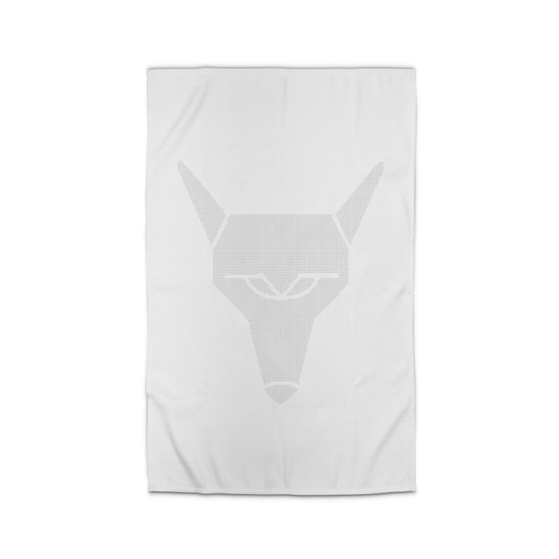 Mad Genius White Hat Fox Home Rug by The Mad Genius Artist Shop