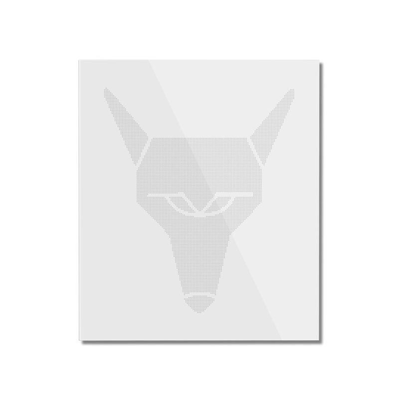 Mad Genius White Hat Fox Home Mounted Acrylic Print by The Mad Genius Artist Shop