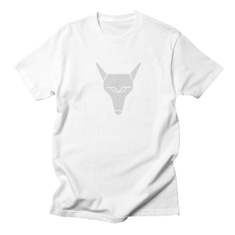 Mad Genius White Hat Fox Men's Regular T-Shirt by The Mad Genius Artist Shop