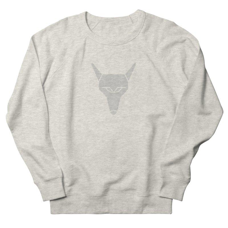 Mad Genius White Hat Fox Men's French Terry Sweatshirt by The Mad Genius Artist Shop