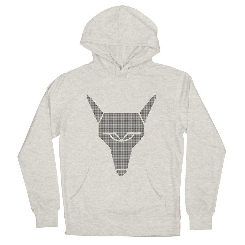 Mad Genius Black Hat Fox Men's Pullover Hoody by The Mad Genius Artist Shop
