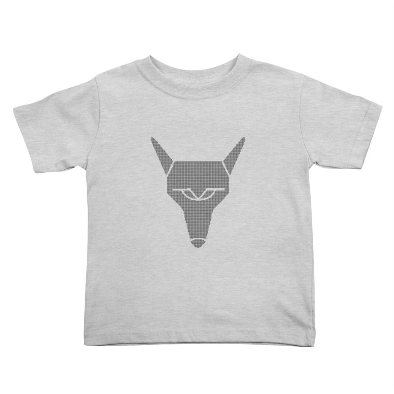 Mad Genius Black Hat Fox Kids Toddler T-Shirt by The Mad Genius Artist Shop