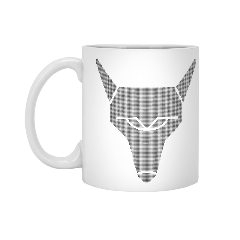 Mad Genius Black Hat Fox Accessories Standard Mug by The Mad Genius Artist Shop