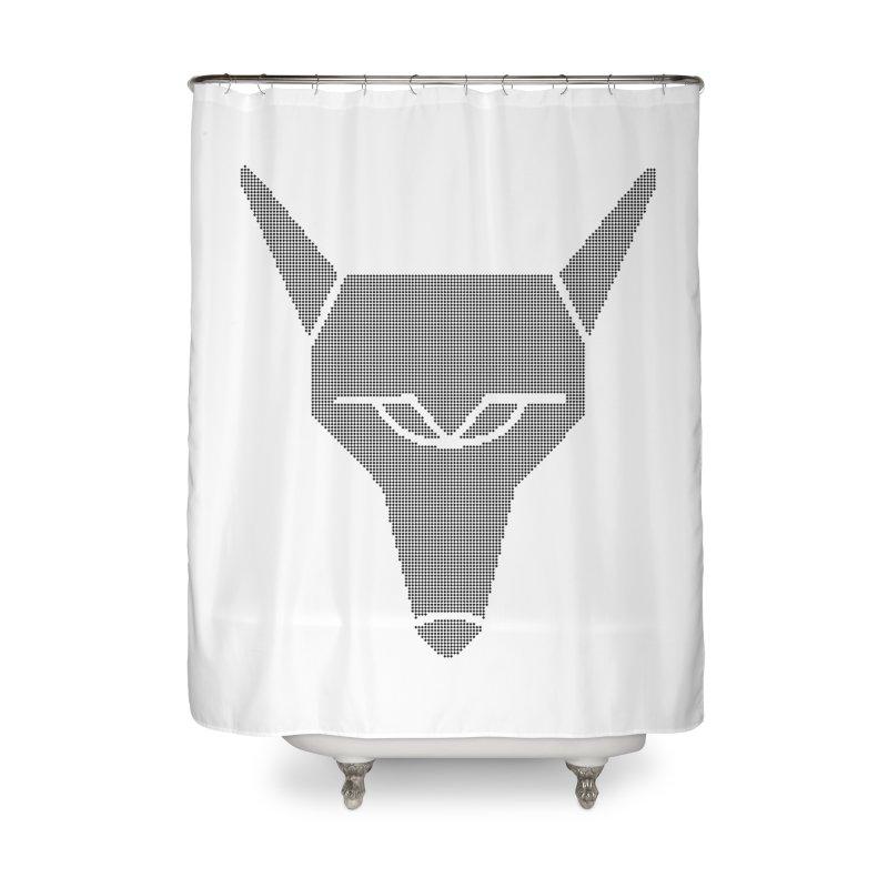 Mad Genius Black Hat Fox Home Shower Curtain by The Mad Genius Artist Shop