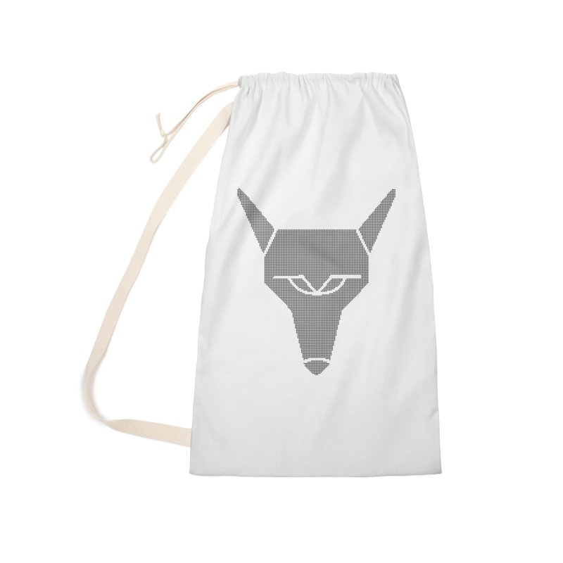 Mad Genius Black Hat Fox Accessories Laundry Bag Bag by The Mad Genius Artist Shop