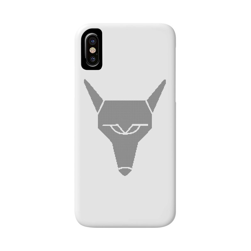 Mad Genius Black Hat Fox in iPhone X / XS Phone Case Slim by The Mad Genius Artist Shop