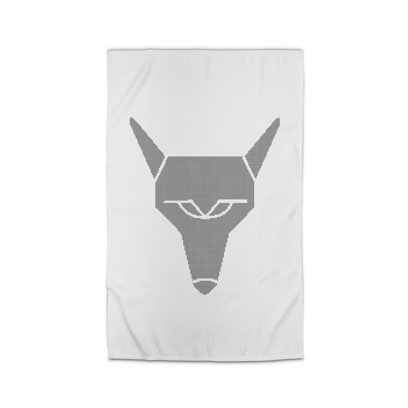 Mad Genius Black Hat Fox Home Rug by The Mad Genius Artist Shop