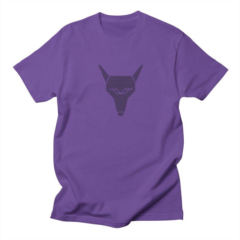 Mad Genius Black Hat Fox Women's Regular Unisex T-Shirt by The Mad Genius Artist Shop