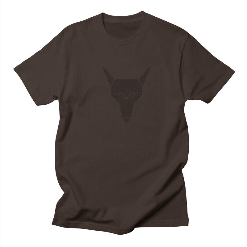 Mad Genius Black Hat Fox Men's Regular T-Shirt by The Mad Genius Artist Shop