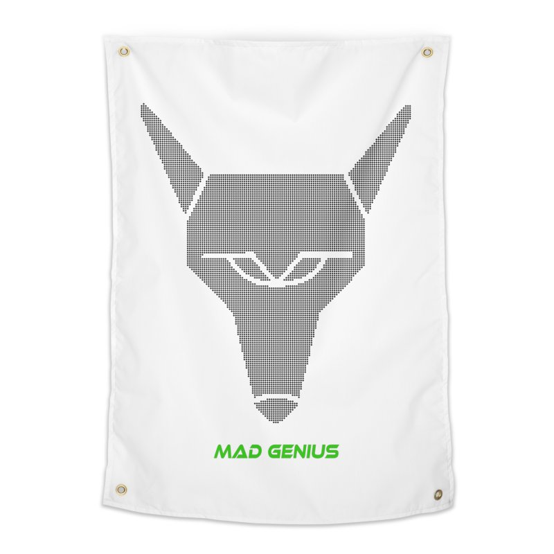 Mad Genius Black Hat Fox MG Home Tapestry by The Mad Genius Artist Shop