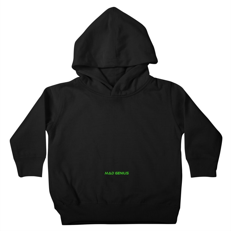 Mad Genius Black Hat Fox MG Kids Toddler Pullover Hoody by The Mad Genius Artist Shop
