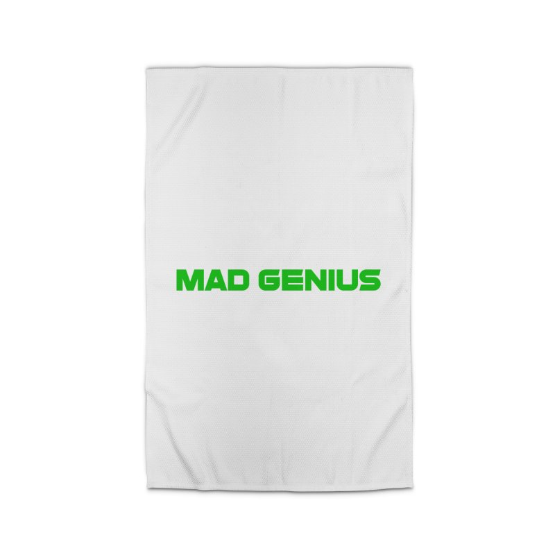 Mad Genius Logo Home Rug by The Mad Genius Artist Shop