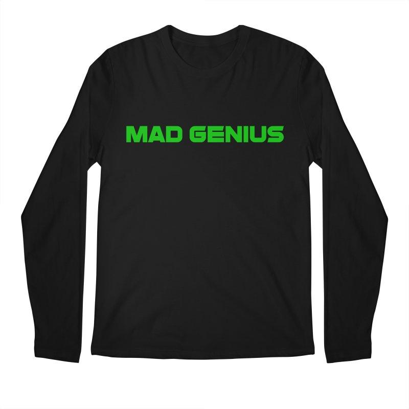Mad Genius Logo Men's Regular Longsleeve T-Shirt by The Mad Genius Artist Shop