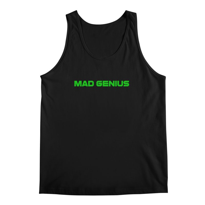 Mad Genius Logo Men's Regular Tank by The Mad Genius Artist Shop