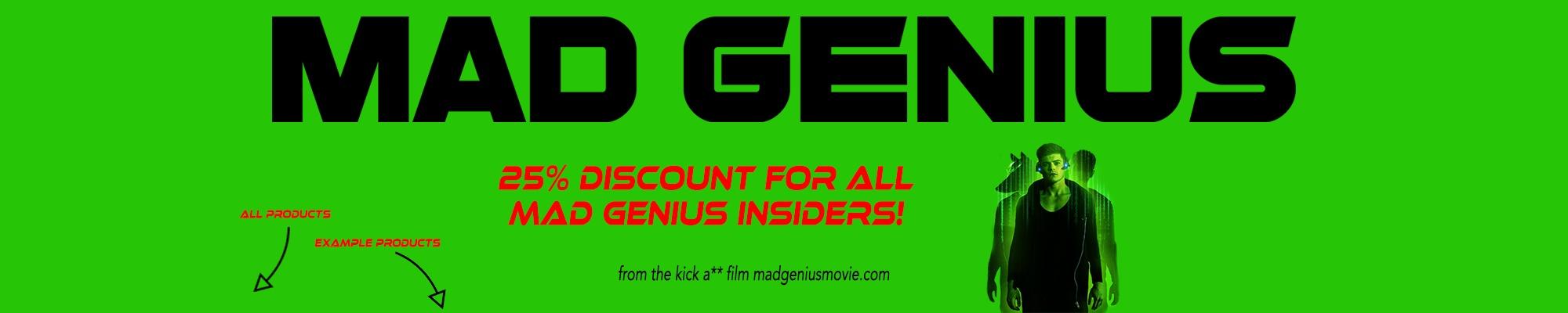 MadGenius Cover