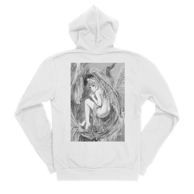 Angelica Obfuscura Men's Zip-Up Hoody by MaddFictional's Artist Shop