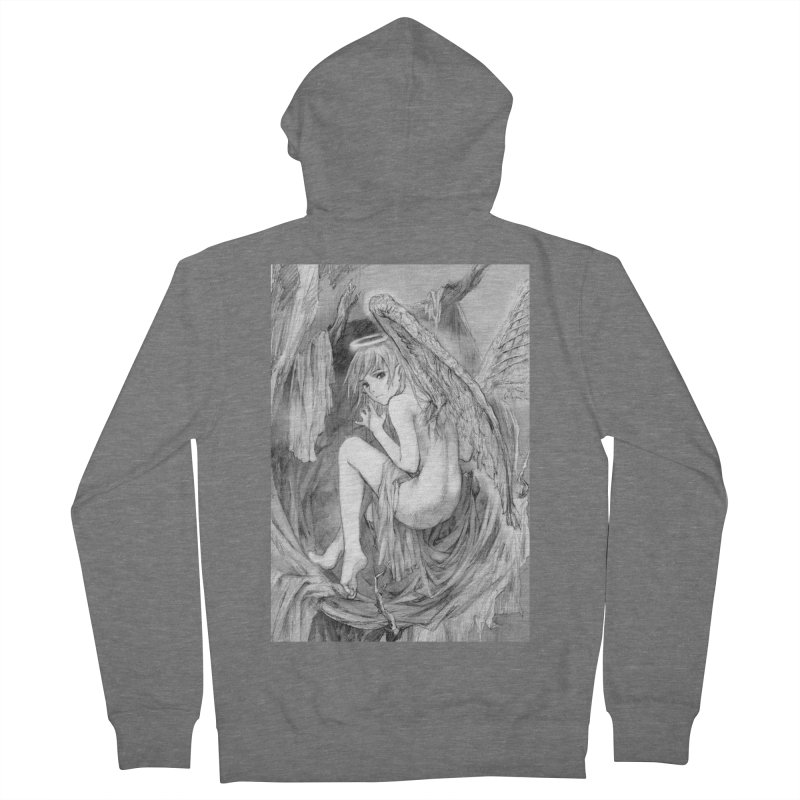 Angelica Obfuscura Women's Zip-Up Hoody by MaddFictional's Artist Shop