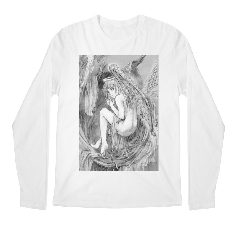 Angelica Obfuscura Men's Longsleeve T-Shirt by MaddFictional's Artist Shop