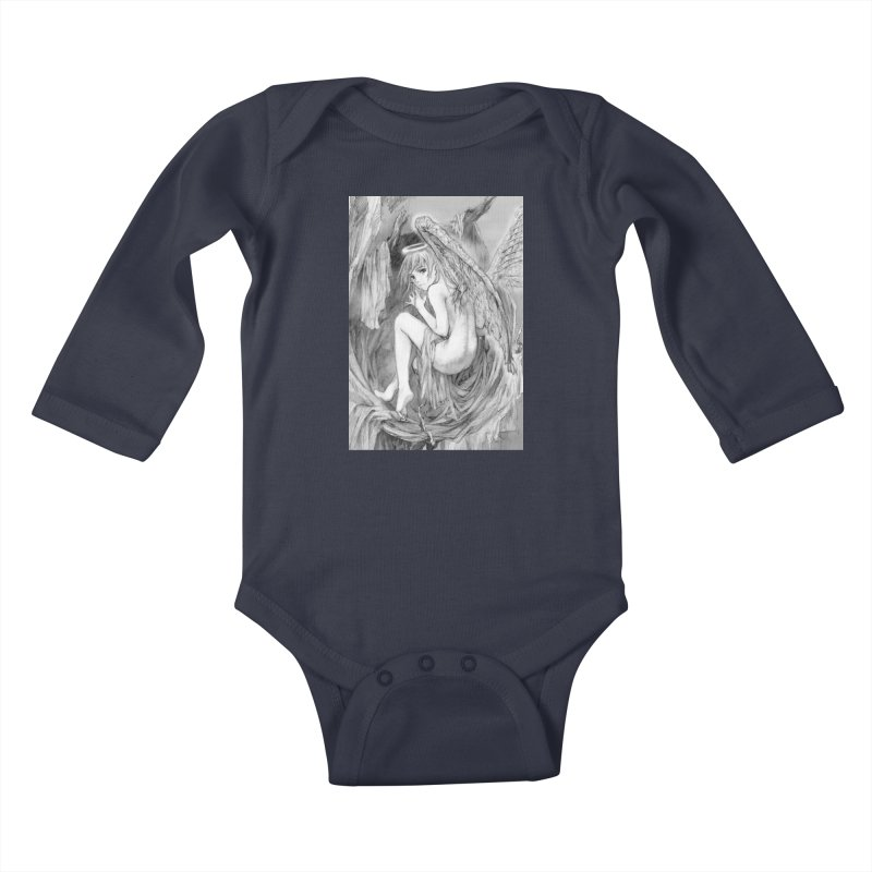Angelica Obfuscura Kids Baby Longsleeve Bodysuit by MaddFictional's Artist Shop