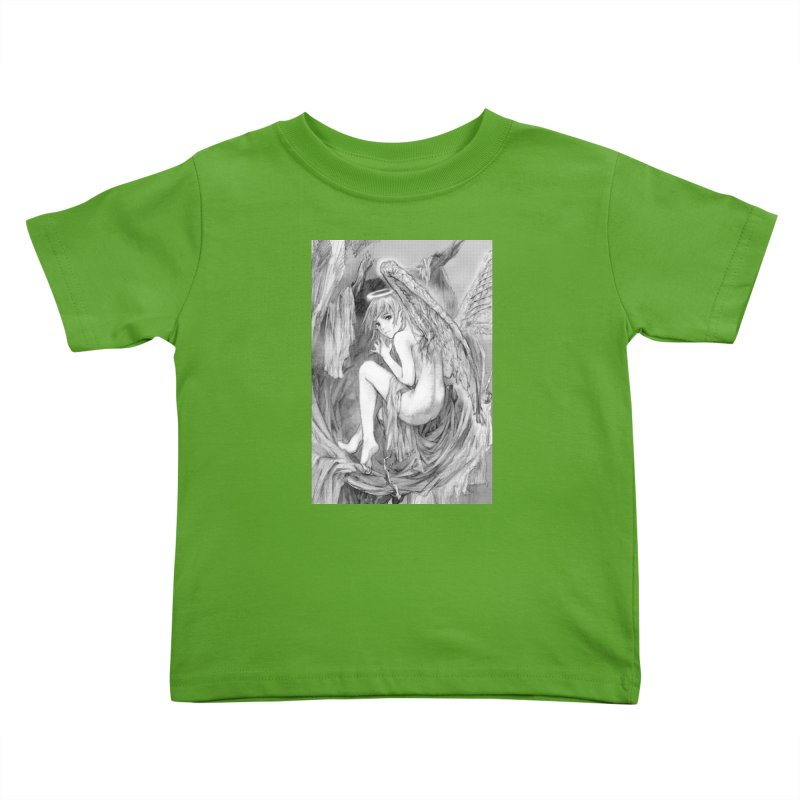 Angelica Obfuscura Kids Toddler T-Shirt by MaddFictional's Artist Shop