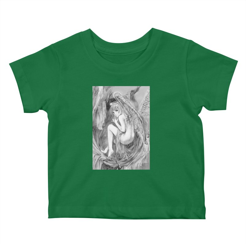Angelica Obfuscura Kids Baby T-Shirt by MaddFictional's Artist Shop