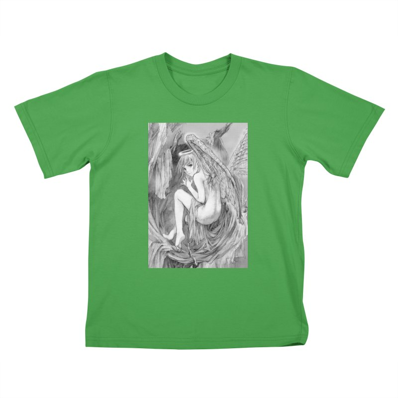 Angelica Obfuscura Kids T-Shirt by MaddFictional's Artist Shop