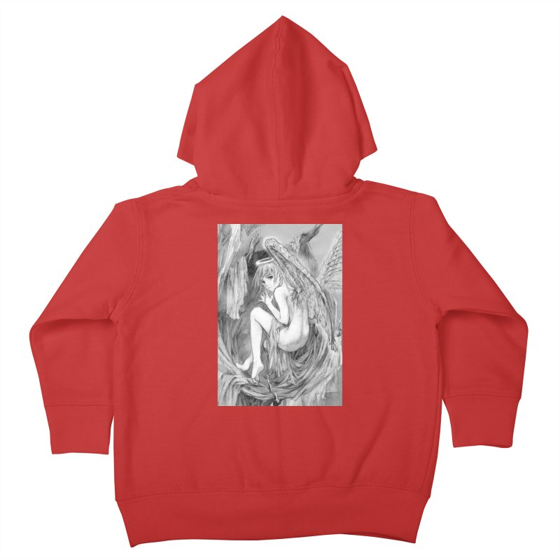 Angelica Obfuscura Kids Toddler Zip-Up Hoody by MaddFictional's Artist Shop