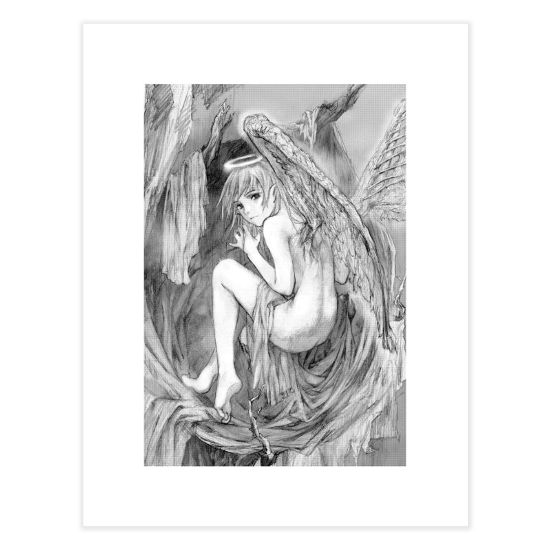 Angelica Obfuscura Home Fine Art Print by MaddFictional's Artist Shop