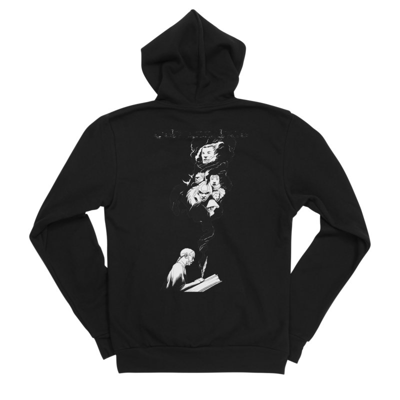 Genaissance - Enoch the Scribe Men's Zip-Up Hoody by MaddFictional's Artist Shop