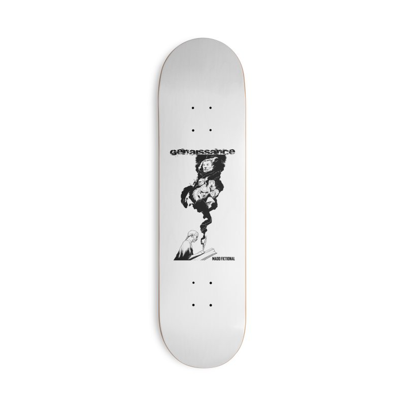 Genaissance - Enoch the Scribe Accessories Skateboard by MaddFictional's Artist Shop